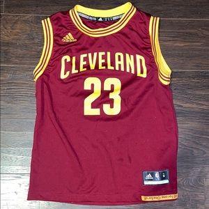 Adidas Cleveland Cavaliers Lebron James Jersey
